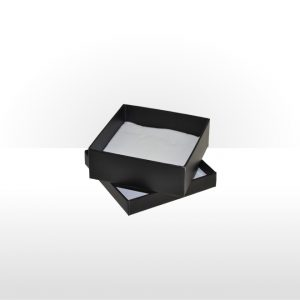 Midnight Black Two Piece Card Universal Box