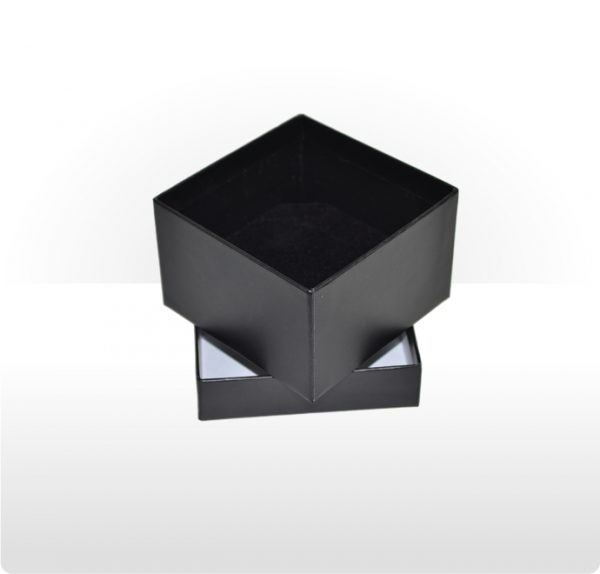 Midnight Black Two Piece Card Deep Box