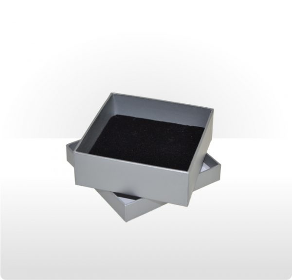 Misty Silver Two Piece Card Universal Box