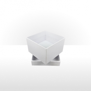 White Two Piece Card Deep Box