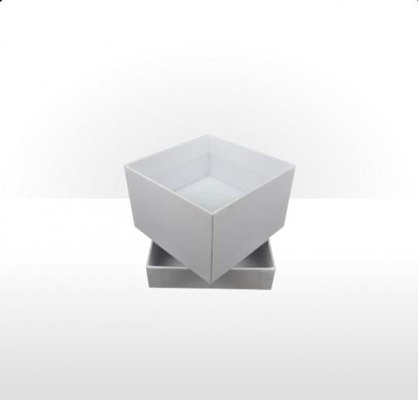 White Two Piece Card Deep Box