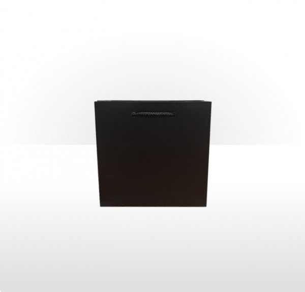 Small Black Paper Bag