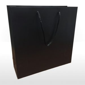 Large Black Paper Bag