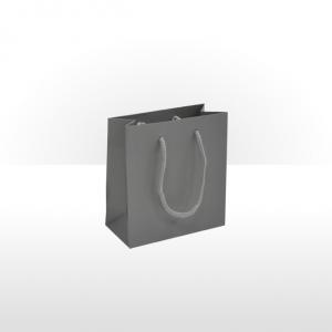 Small Grey Paper Bag