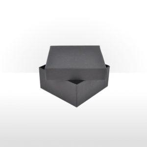 Small Black Gift Box with Polywadding Insert