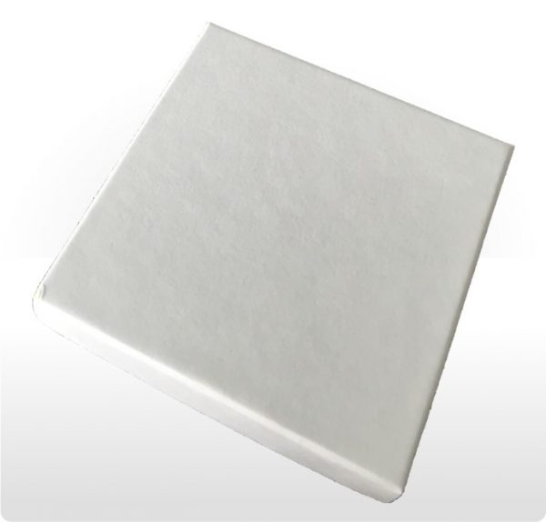 Large White Postal Gift Box with Foam Insert
