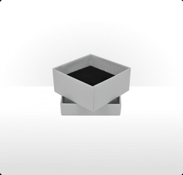 Small Silver Grey Gift Box