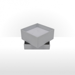 Small Silver Grey Gift Box