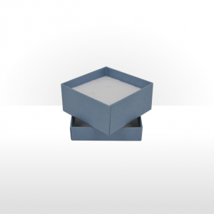 Small Steel Blue Gift Box