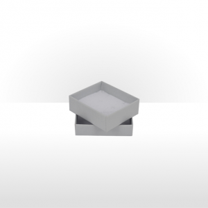 Small Silver Grey Postal Gift Box
