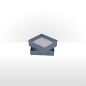 Small Steel Blue Postal Gift Box