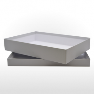 Extra Large Silver Grey Gift Box