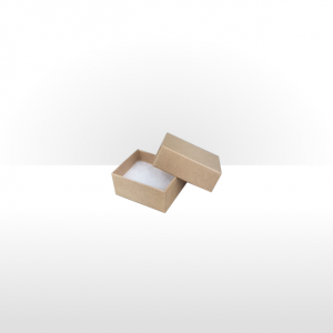 Small Kraft Paper Covered Jewellery or Gift Box