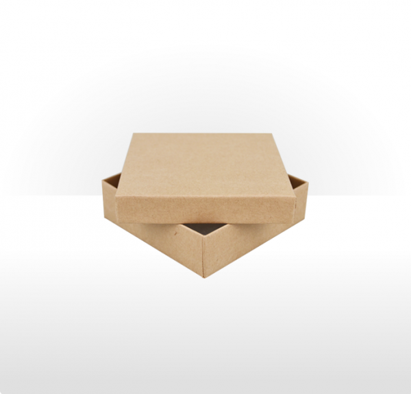 Large Kraft Paper Covered Jewellery or Gift Box