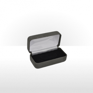Dark Grey Hinged Tie Bar Box