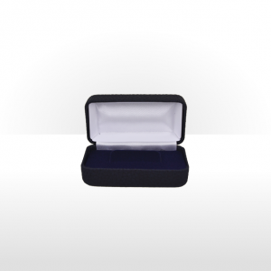 Navy Blue Hinged Tie Bar Box