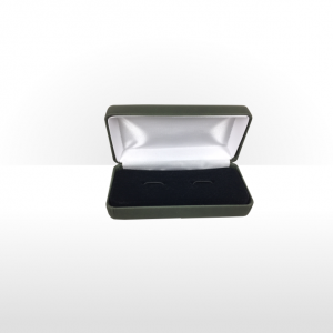 Large Green Cufflink Box