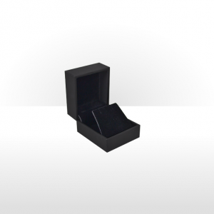 Black Soft Touch Earring Box