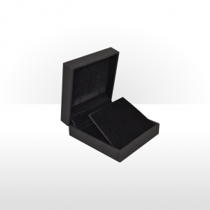 Black Soft Touch Pendant or Earring Box
