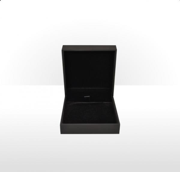 Soft Touch Black Pendant Box