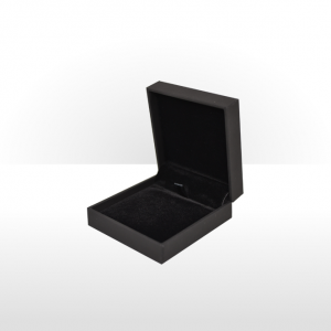 Soft Touch Black Pendant Box