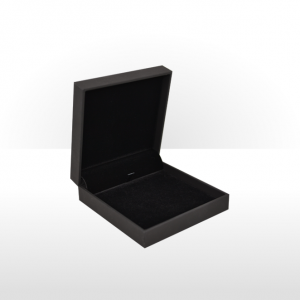 Black Soft Touch Multi Purpose Jewellery Box