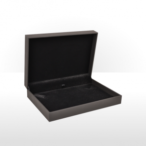 Black Soft Touch Small Necklace Box