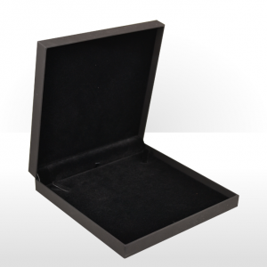 Black Soft Touch Large Necklace Box