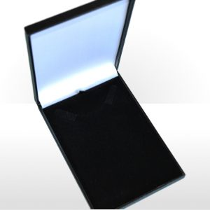 Black Postal Necklet or Necklace Box