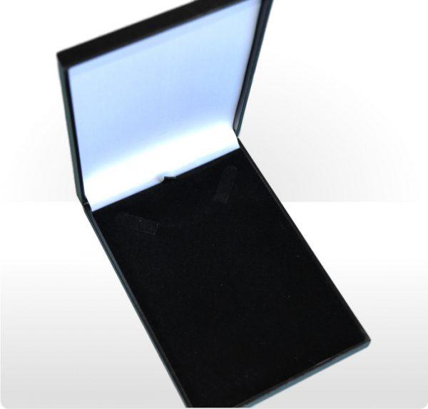 Black Postal Necklet or Necklace Box