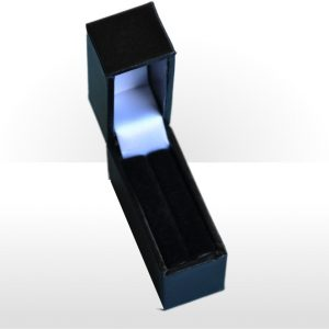 Black Postal Ring Box