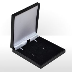 Black Postal Pendant or Earring Box