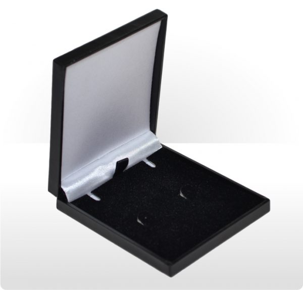 Black Postal Pendant or Earring Box