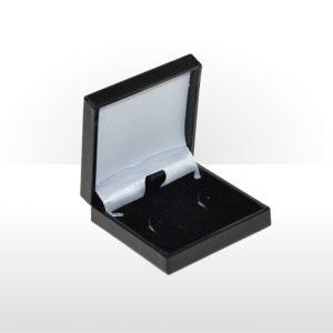 Black Postal Earring Box