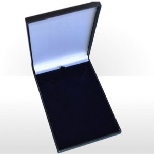 Blue Postal Necklet or Necklace Box
