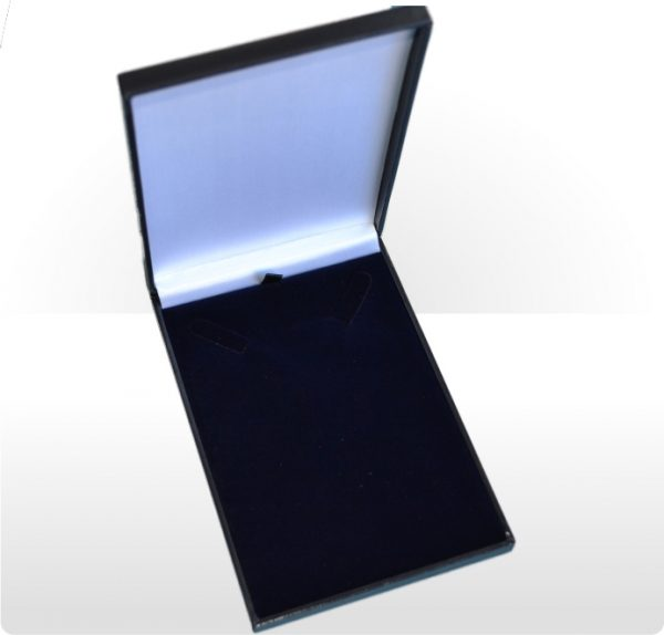 Blue Postal Necklet or Necklace Box