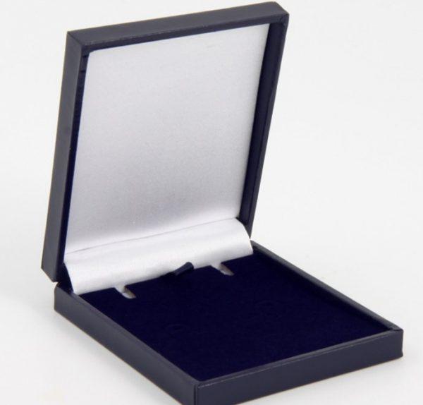 Blue Postal Pendant or Earring Box