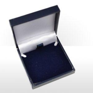 Blue Postal Earring Box