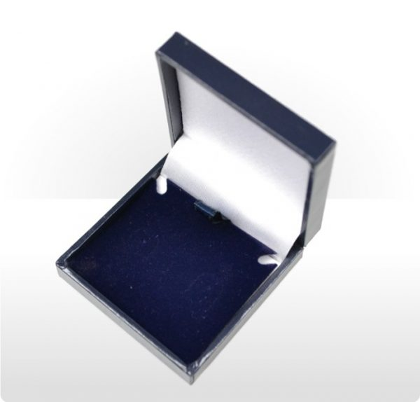 Blue Postal Earring Box