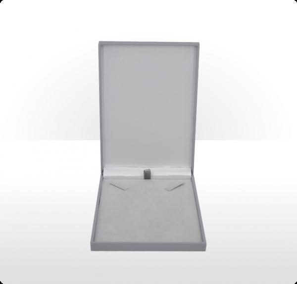 Grey Postal Necklet or Necklace Box