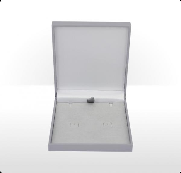Grey Postal Pendant or Earring Box