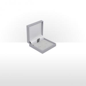 Grey Postal Earring Box