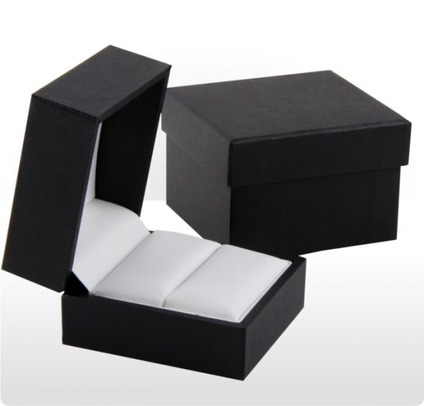 Luxury Black Ring Box