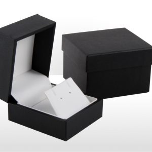 Luxury Black Earring Box