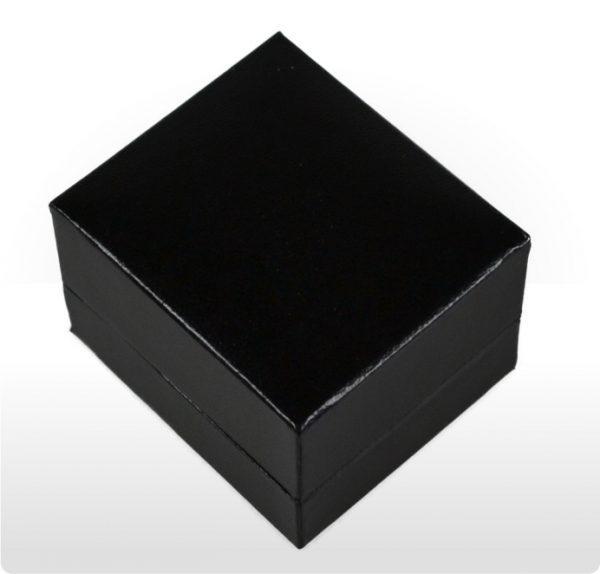 Black Earring Box