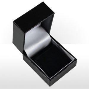 Black Earring Box
