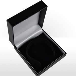 Black Flat Pad Bangle Box