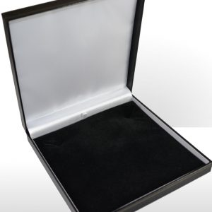 Large Black Necklace Box