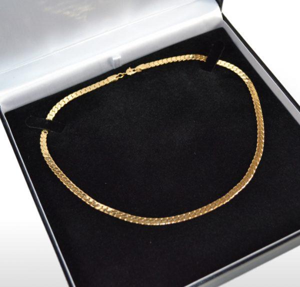 Large Black Necklace Box