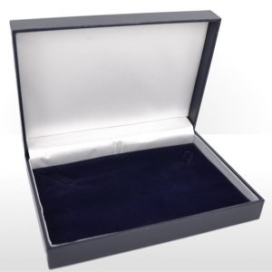 Small Blue Necklace Box